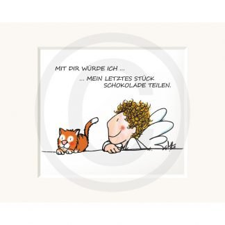 Sweetdesign: Passepartout-Bild Mit Dir...