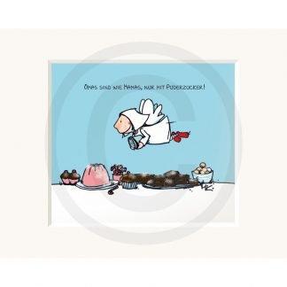 Sweetdesign: Passepartout-Bild Oma